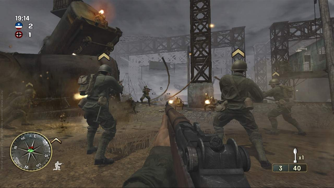 Call of duty 3 [repack] [2003|rus|eng] first pesron shooter.